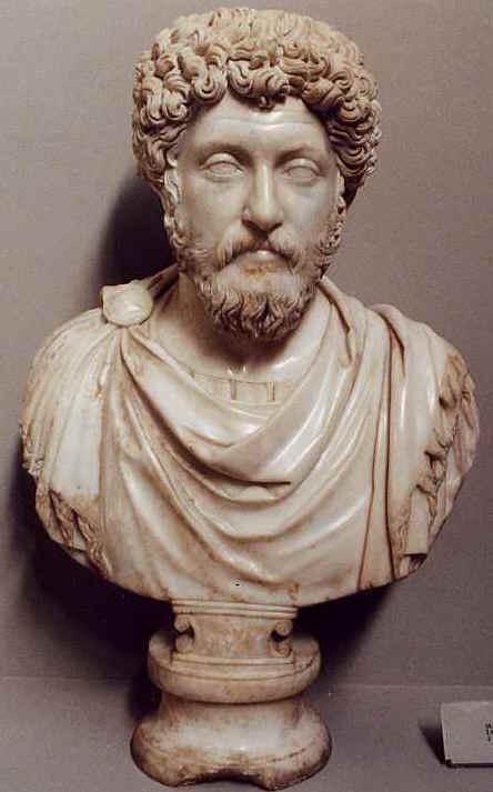 Marcus Aurelius Life scene
