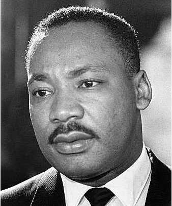 Biography and portraits of Martin Luther King