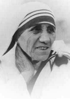 Zitate biographie bilder und bibliographie mutter teresa - Teresa von avila zitate ...