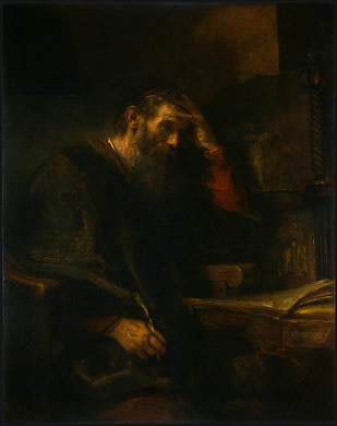 st paul tarsus and baptism A painting of paul of tarsus by rembrandt paul of tarsus, also known as saint paul the apostle,  salvation baptism.